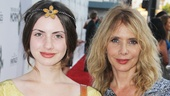 Book of Mormon LA OpeningZoe SidelRosanna Arquette