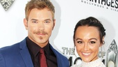 'Book of Mormon' LA Opening—Kellan Lutz—Sharni Vinson