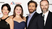 Castmates Michelle Gomez, Annie Funke, Jake Gyllenhall and Brian F. OByrne take a classy family photo.