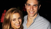 Christy Altomare and Derek Klena played high school sweethearts in Carrie before moving on to the musicals Mamma Mia! and Dogfight, respectively. 