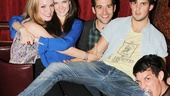 Carrie- Listening Party- Jennifer Damiano- Meghann Fahy- Adam Chanler-Berat Wesley Taylor- Preston Sadleir