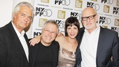 Kurt Galvao (the film's restorer), Alan Menken, Ellen Green and Frank Oz greet fans and pose for photos at the New York Film Festival's screening of Little Shop of Horrors: The Director's Cut.