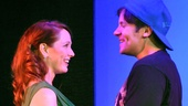 Mary Mossberg and Danny Bernardy in Cougar the Musical.