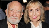 Ed Asner enjoys the evening with his ex-wife, long-time producer Cindy Gilmore.