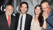 Ed Asner, Paul Rudd, Kate Arrington and Michael Shannon get cozy on the red carpet.