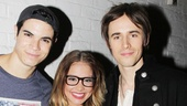 Reeve Carney Visits 'Bring It On' — Jason Gotay — Elle McLemore — Reeve Carney