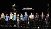 The 11-member Harper Regan company steps forward for their curtain call.