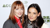 Screen stars Judy Greer and Katie Holmes are both making the leap to Broadway—although Katie already has one show under her belt!