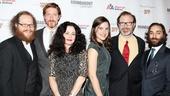 'Cyrano de Bergerac' Opening Night — Andy Grotelueschen — Samuel Roukin — Geraldine Hughes — Mikaela Feely-Lehmann — Drew McVety — Ben Steinfeld