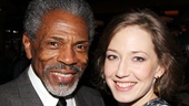 Andre De Shields and Carrie Coon reunite in New York after starring in Our Town at the Madison Repertory Theatre in Wisconsin.