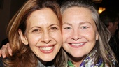 Flesh and Blood alums Jessica Hecht and Cherry Jones reunite at Virginia Woolf.