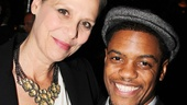Amy Morton is joined by fellow Steppenwolf ensemble member Jon Michael Hill (Superior Donuts) on opening night.