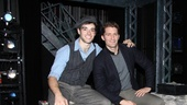 Matthew Morrison at Newsies  Matthew Morrion  Corey Cott