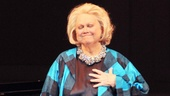 Barbara Cook takes in the moment at her 85th birthday celebration at Carnegie Hall.