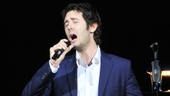 "Josh Groban stops the show with a surprise performance of ""Not While I'm Around"" (from Sweeney Todd)."