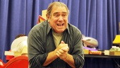 Dan Lauria plays original A Christmas Story creator Jean Shepherd, a grown-up Ralphie who narrates the show.