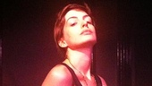 Anne Hathaway preps to channel the divinely decadent Sally Bowles in a Cabaret benefit concert at Joe's Pub.