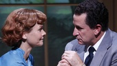 Kathryn Erbe as Pat Nixon and Anthony LaPaglia as Richard Nixon in Checkers.