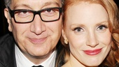 The Heiress  Opening Night  Moises Kaufman  Jessica Chastain