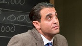 Bobby Cannavale as Ricky Roma and Jeremy Shamos in Glengarry Glen Ross.
