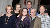 'Sorry' Opening Night — J. Smith-Cameron — Laila Robins — Jay O. Sanders — Maryann Plunkett — Jon DeVries — Richard Nelson