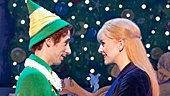 Matt Kopec as Buddy and Kate Hennies in the national tour of Elf.