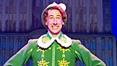 Matt Kopec as Buddy in the national tour of Elf.