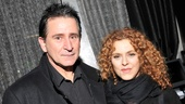 Anthony LaPaglia welcomes Bernadette Peters, his co-star in the 1989 film comedy Slaves of New York.