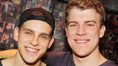 In Bare, Taylor Trensch and Jason Hite play Peter and Jason, two star-crossed lovers at a strict Catholic boarding school.