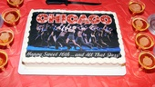 There's no better way to celebrate Chicago's sweet 16 than with cake and Champagne.