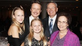 It's a family affair for Will Chase, his parents and his daughters Daisy and Gracie (who have seen Drood more than 13 times!).