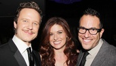 Will Chase and Debra Messing celebrate opening night with their Smash director (and Spring Awakening helmer) Michael Mayer.