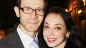 Mystery of Edwin Drood Opening Night  Adam Godley  Jennifer Savelli