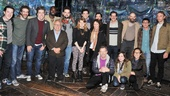 Danny DeVito and Rhea Perlman at Peter and the Starcatcher  group shot