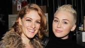 Chicago – Miley Cyrus Visits – Dylis Croman – Miley Cyrus