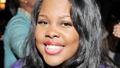 For her New York stage debut, Amber Riley gives a beautiful, energetic and powerfully sung performance.
