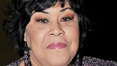 Legendary pop singer Martha Wash is on hand to savor Andrea McArdle's big night.