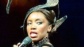 Heather Headley as Rachen Marron and ensemble in The Bodyguard.