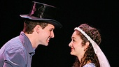 Addison Reid Coe as Tony and MaryJoanna Grisso as Maria in the national tour of West Side Story.