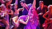 Michelle Alves as Anita, Andres Acosta as Bernardo and the cast of the national tour of West Side Story.