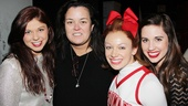 Rosie ODonnell at Bring It On  Casey Jamerson  Rosie ODonnell  Courtney Corbeille  Nikki Bohne