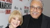 Cecilia Hart and her husband Tony winner James Earl Jones light up the red carpet, as always.