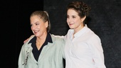 The Anarchist stars Patti LuPone and Debra Winger come together for their opening night bow.