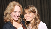 Tony nominees Jan Maxwell (MLynn) and Celia Keenan-Bolger (Shelby) brought humor and heartbreak to the mother-daughter scenes in Steel Magnolias. 