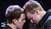 Taylor Trensch as Peter and Jason Hite as Jason in Bare.