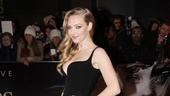 Attention fashion lovers: Amanda Seyfrieds Balenciaga gown is straight from the runway.