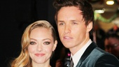 Les Miserables London premiere  Amanda Seyfried  Eddie Redmayne