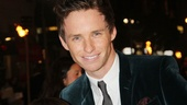 Les Miserables London premiere  Eddie Redmayne  Daniel Huttlestone