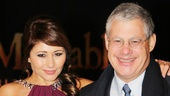 Les Miserables London premiere  Frances Ruffelle  Cameron Mackintosh