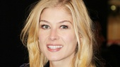 Les Miserables London premiere  Rosamund Pike